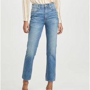 SLVRLAKE Virginia Slim High Rise Jeans